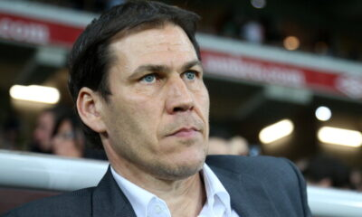 Rudi Garcìa, allenatore della Roma favorita per la Coppa Italia
