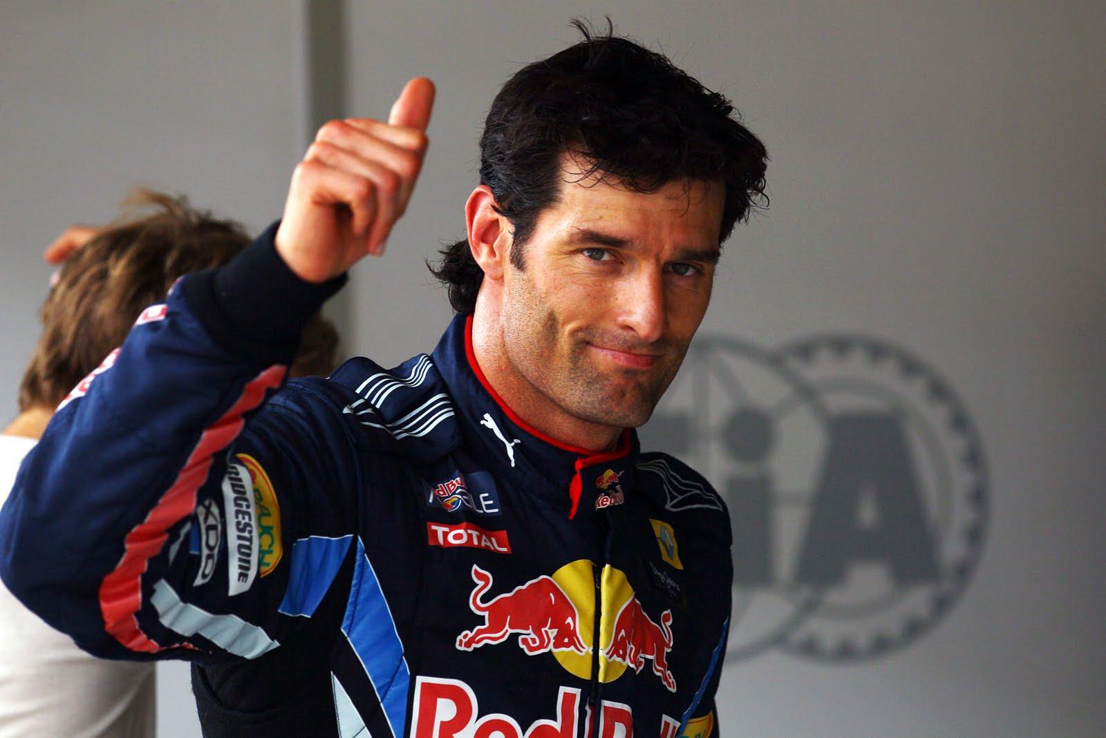 Mark Webber, pilota 2013 della Red Bull
