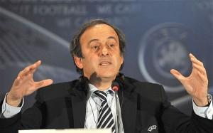 Michel Platini, presidente dell'UEFA