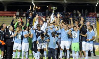 La Lazio Primavera festeggia lo scudetto