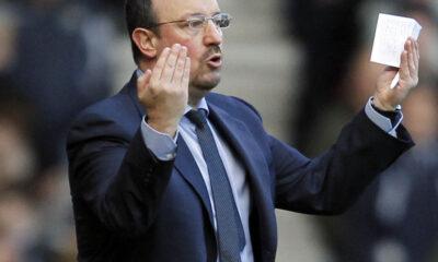 Rafa Benitez, allenatore del Napoli