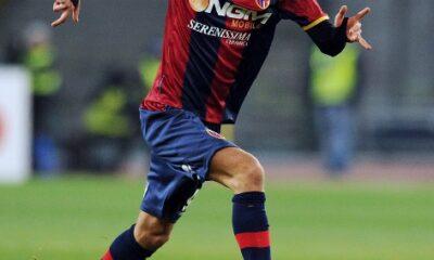 Robert Acquafresca, decisivo per il Bologna.