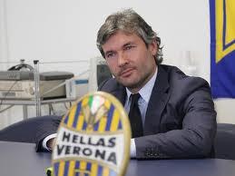 Sean Sogliano, Ds del Verona