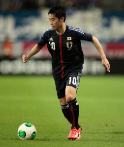 Giappone: il giocatore del Manchester United Shinji Kagawa, è il giocatore più rappresentativo della nazionale del Sol Levante