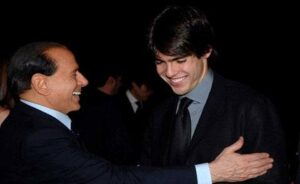 Silvio Berlusconi accoglie Kakà