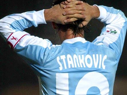 Dejan Stankovic ai tempi della Lazio