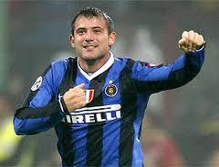 Dejan Stankovic con la maglia dell'Inter