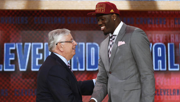 Anthony Bennett, prima scelta assoluta del draft, acquistato dai Cleveland Cavaliers