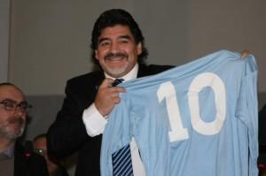 Ritiro numeri di maglia: Diego Armando Maradona