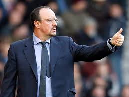 Rafa Benitez sulla panchina del Napoli