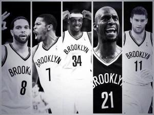 Il quintetto di Brooklyn dopo la trade