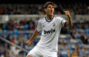 Alvaro Morata, attaccante del Real Madrid