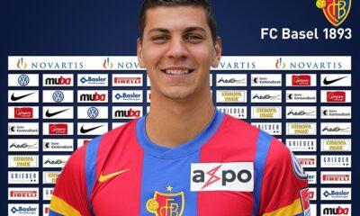 Aleksandar Dragovic, con la maglia del Basilea