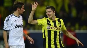 Lewandowski salterà l'andata in Spagna