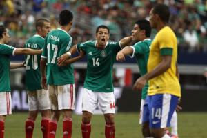 Un immagine dell'incontro di ieri sera, disputato alle ore 21 in Italia e iniziato alle ore 16 in Brasile