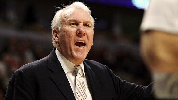 Popovich, coach degli Spurs rinnova per altri 4 anni