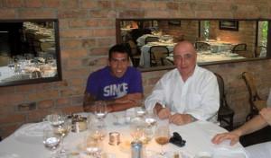 La cena indigesta offerta da Galliani a Tevez