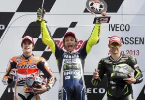 Valentino Rossi ritorna alla vittoria ad Assen
