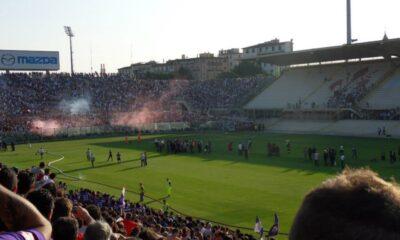 La presentazione della Fiorentina 2013/2014 al Franchi