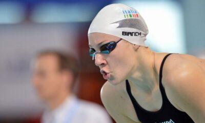 Ilaria Bianchi a bordo piscina