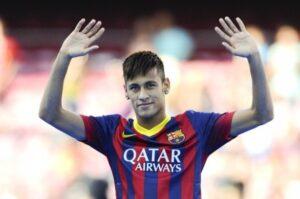 Neymar, protagonista del match