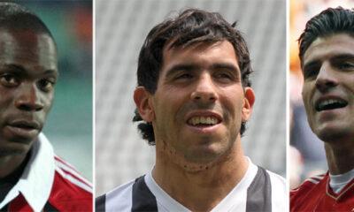 Balotelli- Tevez - Gomez