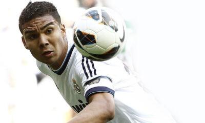 Casemiro con la maglia del Real Madrid