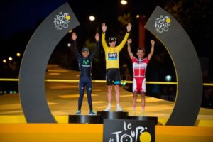 Il podio del Tour de France 2013