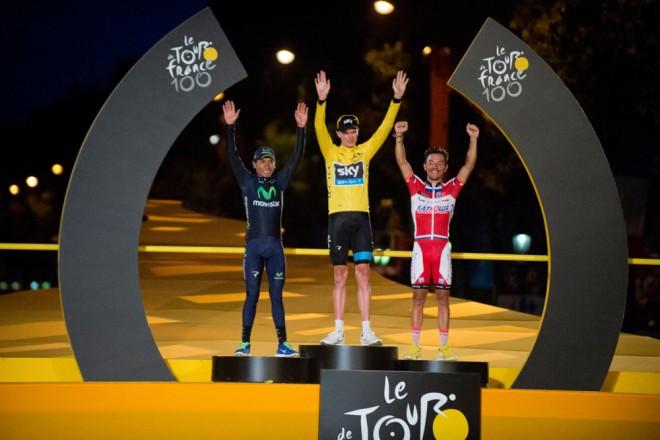 Chris Froome, il vincitore del Tour de France 2013