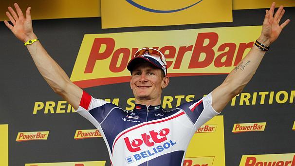 Andrè Greipel, vincitore della sesta tappa del Giro d'Italia
