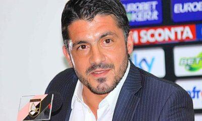 Gennaro Gattuso tecnico del Palermo