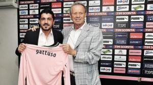 Gennaro Gattuso e Maurizio Zamparini