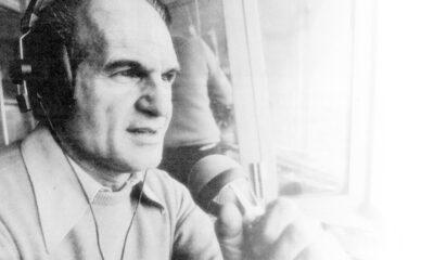 Sandro Ciotti, uno dei miti della telecronaca italiana