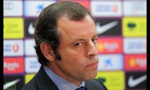Sandro Rossell, Presidente del Barcellona
