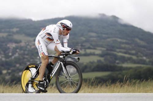 Tony Martin, il vincitore della nona tappa del Tour de France