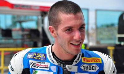 Andrea Antonelli, scomparso oggi durante la gara del Mondiale Supersport