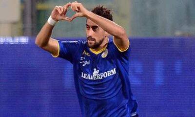 Andrea Cocco festeggia un goal