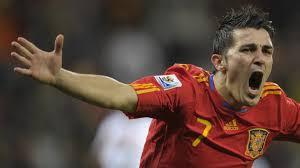 David Villa, il miglior realizzatore con la maglia della Roja