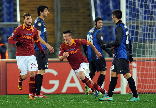 Roma-Inter, l'immagine di un match