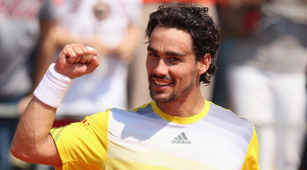 Fabio Fognini, protagonista azzurro in Coppa Davis.