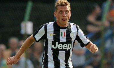Emanuele Giaccherini con la maglia della Juventus
