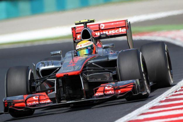 Lewis Hamilton con la Mercedes