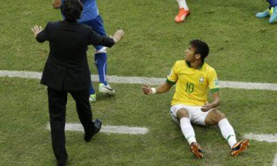 Neymar, attaccante del Brasile Mondiali