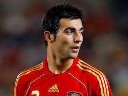 Raul Albiol con la maglia della Spagna
