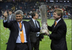 Lucescu in compagnia del Presidente