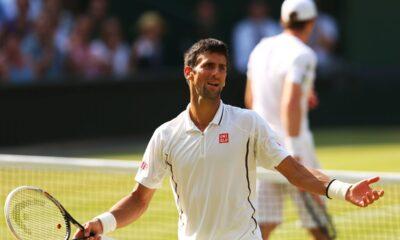 Il serbo Novak Djovovic, plurivincitore degli Australian Open.