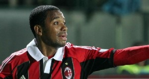 Robinho, attaccante del Milan