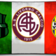 I tre loghi di Sassuolo, Livorno, Verona