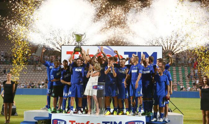 Il Sassuolo vince il trofeo Tim 2013