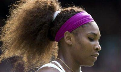 la fortissima Serena Williams durante gli Australian Open
